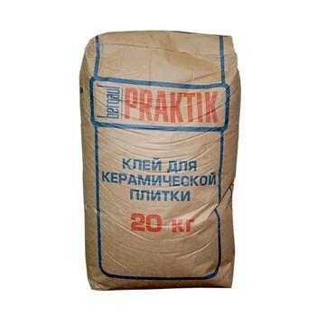 Клей для плитки Praktik, 20 кг