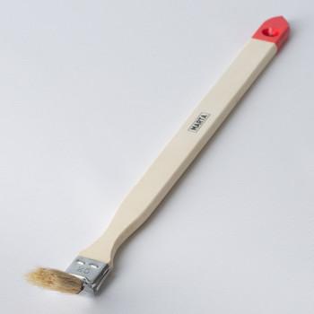 Кисть радиаторная 25 мм, натуральная щетина, дерев. ручка Мастер Marta