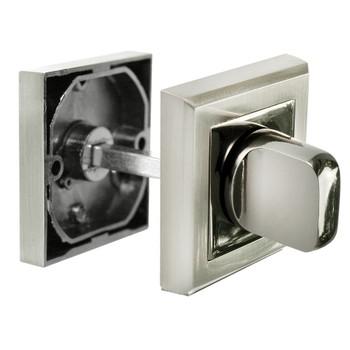 Завертка сантехническая Morelli MH-WC-S SN/BN белый никель/ черный никель