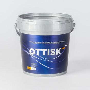 Краска для стен и потолков OTTISK моющаяся, база А, 0,9л