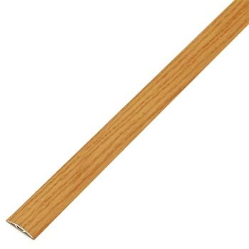 Порожек одноуровневый со скрытым креплением 31,2×1350мм орех (ЛС 04- 2.1350.088)