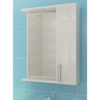 Зеркальный шкаф VIGO Atlantic 1-60 правый без электрики