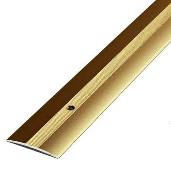 Порожек стыкоперекрывающий (37х3,5) (ПС03, 900.04, бронза)