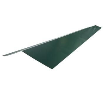 Планка карнизная Шинглас, зеленая, 2000х100х50х10 мм