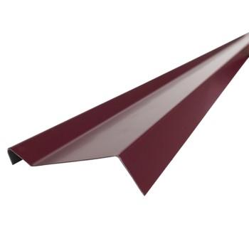 Планка примыкания Шинглас, красная, 20х45х15х10 мм длина 2 м