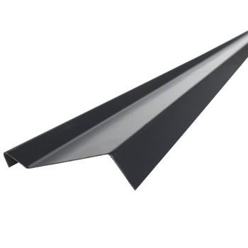 Планка примыкания Шинглас, серая, 10х45х15х10 мм