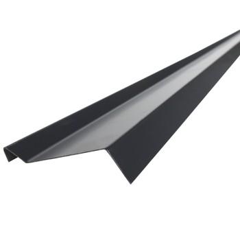 Планка примыкания Шинглас, серая, 20х45х15х10 мм длина 2 м