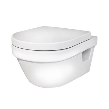 Унитаз подвесной GUSTAVSBERG Hygienic Flush 5G84HR01 c сиденьем микролифт
