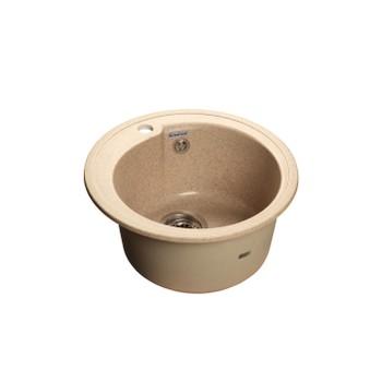 Мойка кухонная GranFest Rondo GF-R450 песочный