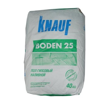 Ровнитель гипсовый Кнауф Боден 25, 40 кг