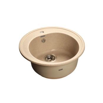 Мойка кухонная GranFest Rondo GF-R510 песочный