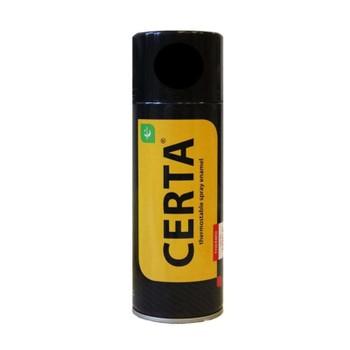 Эмаль термостойкая антикоррозионная (до+700°С) CERTA золотая, 0,52л