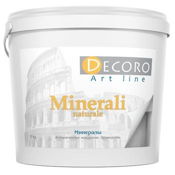 Штукатурка декоративная известковая Decoro Minerali naturale, 5кг