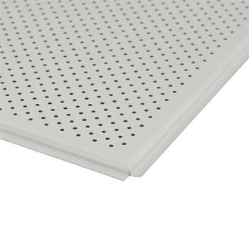 Панель потолочная AP600A6 белый мат. A903RUS01/F d=3 перф. (Албес) (36шт/уп)