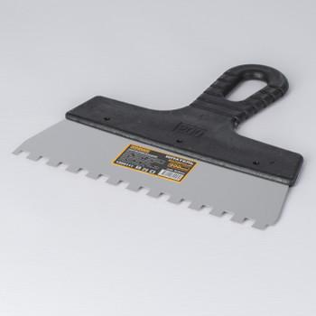 Шпатель зубчатый, зуб 8×8 мм, 200 мм