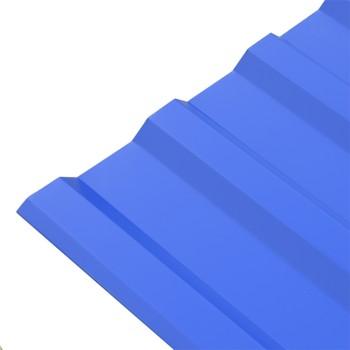 Профнастил МП-20 5002 pepsi (0,5мм) 2х1,15 м