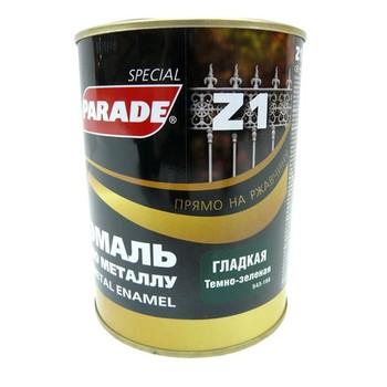 Эмаль PARADE Z1 по металлу гладкая, темно-зеленый (0,75 л)