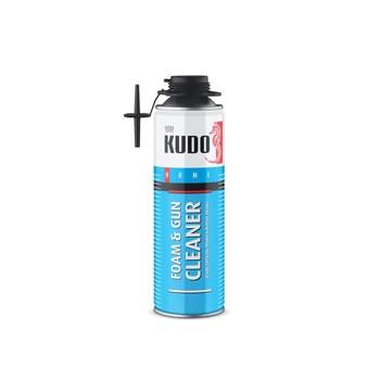 Очиститель монтажной пены KUDO НОМЕ FOAM&GUN CLEANER, 650 мл