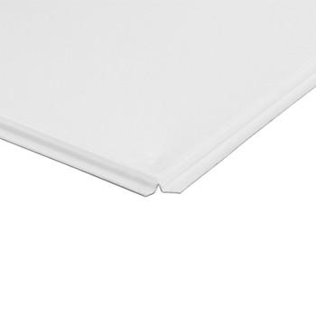 Потолок кассетный Албес АР600А6-Е Эконом 600х600 мм белый матовый