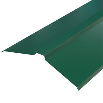 Планка конька плоского 150х150х2000 (ПЭ-01-6005-ОН) зеленый мох