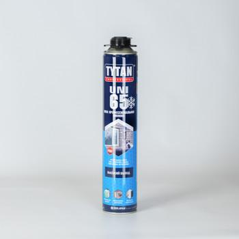 Пена монтажная Tytan 65 UNI профессиональная, зима, 750 мл