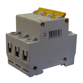 Авт. выключатель IEK 3-полюсной ВА 47-100, 80А (С)