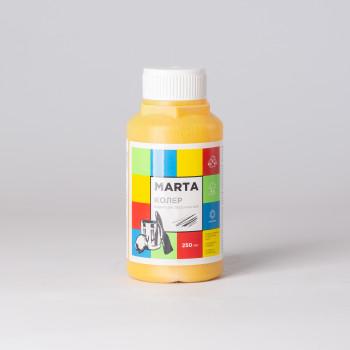 Колер MARTA в/д желтый, 250мл