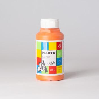 Колер MARTA в/д оранжевый, 250мл