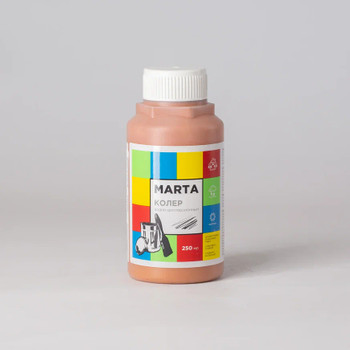 Колер MARTA в/д темно-коричневый, 250мл