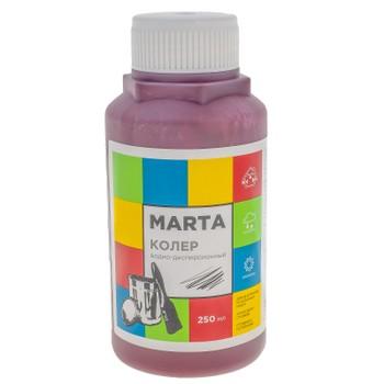 Колер MARTA в/д бордовый, 250мл