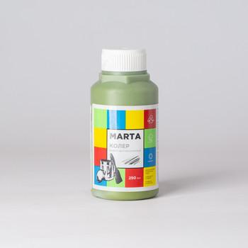 Колер MARTA в/д оливковый, 250мл