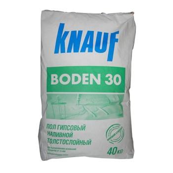 Ровнитель гипсовый Кнауф Боден 30, 40 кг