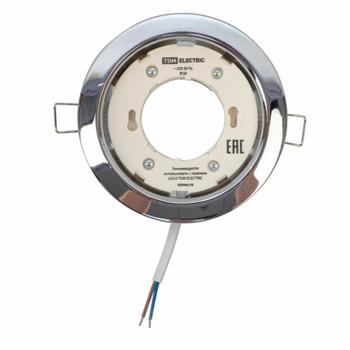 Светильник точечный GX53 220В хром