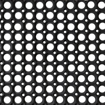 Коврик резиновый Ринго-матт 80х120 см, 16 мм, черный