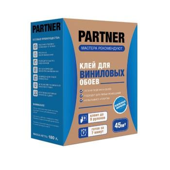 Клей обойный Partner 9 для виниловых обоев, 180гр (45м2)