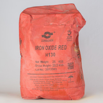 Пигмент железоокисный красный, 25 кг