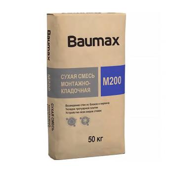 Смесь монтажно-кладочная Baumax М200, 50 кг