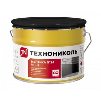 Мастика гидроизоляционная битумная (МГТН №24) 3 кг
