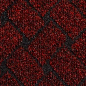 Покрытие ковровое Rhombus 40, 4 м, красный, 75% PP/25% PES