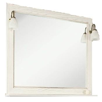 Зеркало Акватон Жерона 105 белое золото (1A158802GEM40)