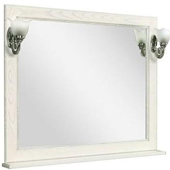 Зеркало Акватон Жерона 85 белое золото (1A158702GEM40)