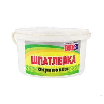 Шпаклевка акриловая Brozex, 0,9 кг