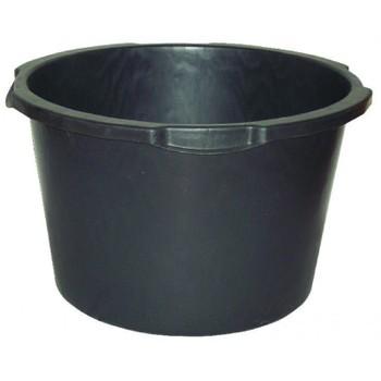 Кадка строительная 40-45л круглая пластмасса