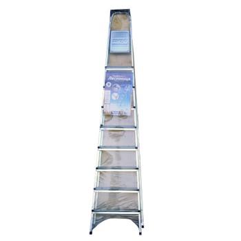 Стремянка стальная 9 ступени, высота до платформы 207 см
