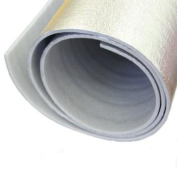Отражающая теплоизоляция ПЕНОТЕРМ НПП ЛФ 1,2х25м 3мм серый