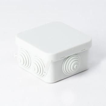 Коробка распределительная 6 вводов 85x85x40мм
