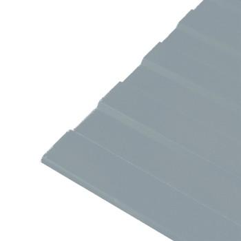 Профнастил С-8 1200х2000 (ПЭ-7004-0,45 мм) Серый сигнальный