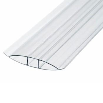 Профиль соединительный прозрачный, 4-6мм х6м (универсальный)