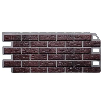 Панель фасадная кирпич жженый 1,137х0,47м, Файн Бир