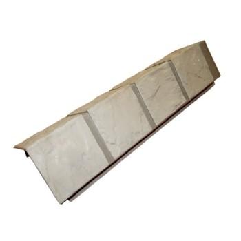 Угол наружный 0,115х0,47 Файн Бир (камень песочный) для цок.сайдинга